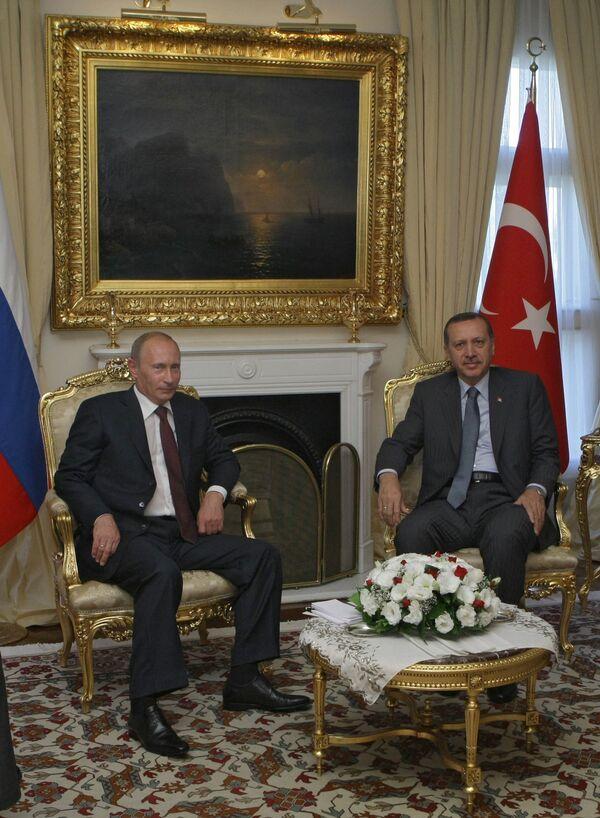 Трубы зовут: Путин в Турции