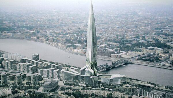 Проект Охта центр архитектурного бюро NBBJ