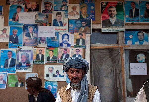 Подготовка к президентским выборам в Афганистане