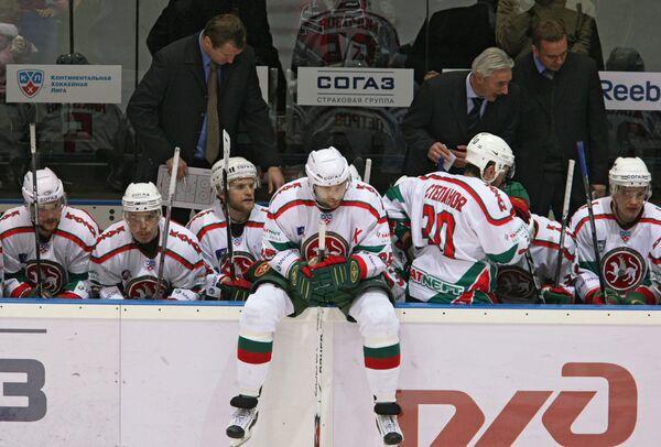 Сушинский в Вильнюсе принес СКА победу над Ак Барсом