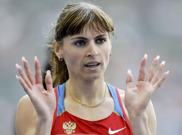 Российская спортсменка Антонина Кривошапка