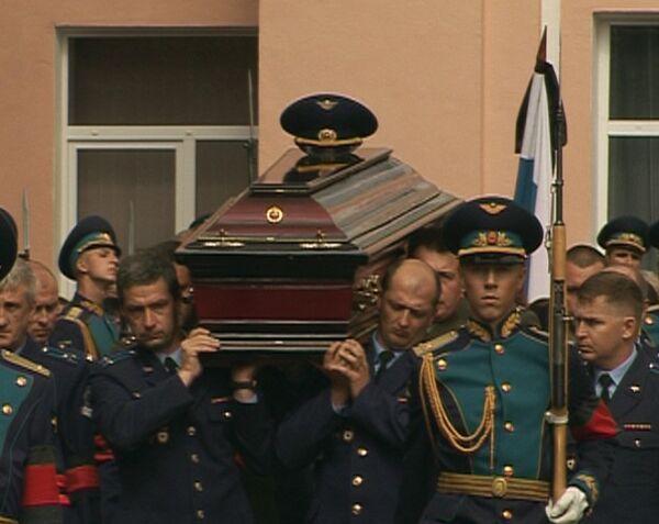 Москва простилась с Русским витязем – похороны Игоря Ткаченко