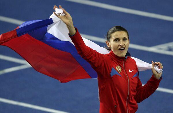 Российская легкоатлетка Анна Чичерова