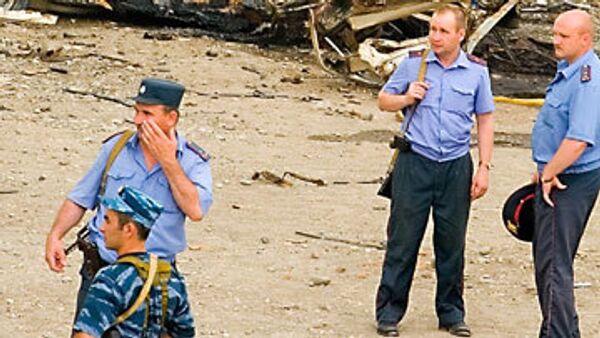 Один милиционер погиб, семеро ранены при взрыве в Чечне
