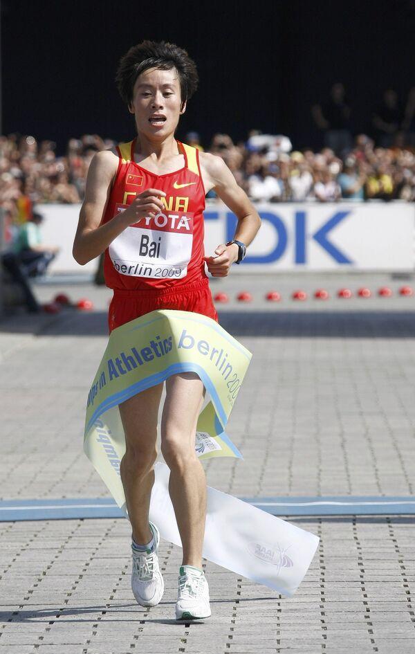 Китайская спортсменка Сюэ Бай