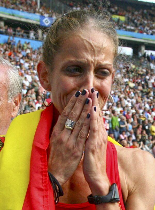 Испанская легкоатлетка Натали Родригес