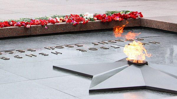 Могила Неизвестного солдата у Кремлевской стены. Архив