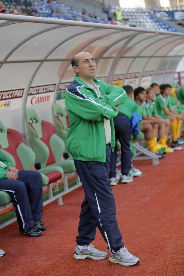 Главный тренер Кубани Погос Галстян