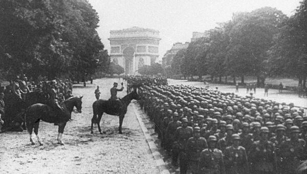 14 июня  1940-го года пал Париж