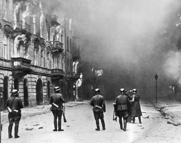 Варшава в огне