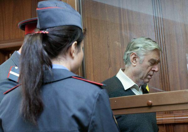Бывший замдиректора департамента Счетной палаты Василий Корягин, признанный присяжными виновным в получении взятки