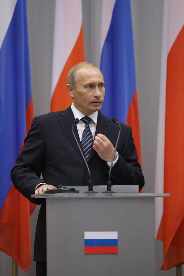 Как поляки отвечали Путину