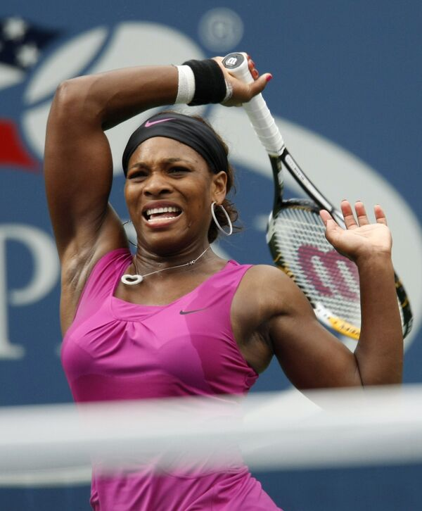 Серена Уильямс продолжает защиту титула на US Open