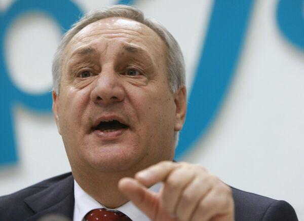 Президент Абхазии Сергей Багапш. Архив