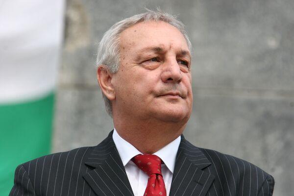 Глава республики Абхазия Сергей Багапш. Архив
