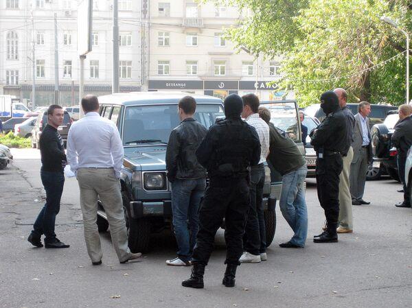 Задержание Ломакина