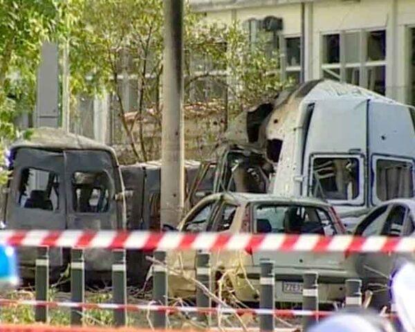 Два мощных взрыва прогремели в Греции