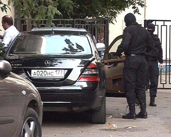 Видео с места задержания главы Астон Мартин Москва Андрея Ломакина