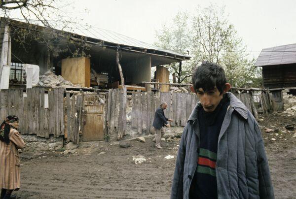 Землетрясение разрушило в Грузии несколько десятков домов