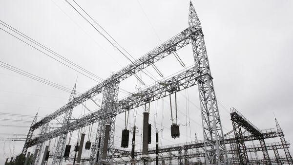 Электроподстанции 500 кВ Бескудниково, архивное фото