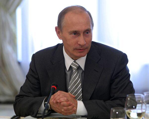Премьер-министр РФ Владимир Путин встретился с участниками клуба Валдай