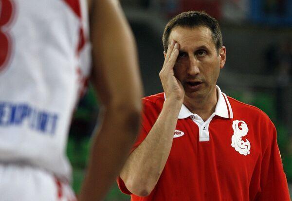 Главный тренер мужской сборной России по баскетболу Дэвид Блатт