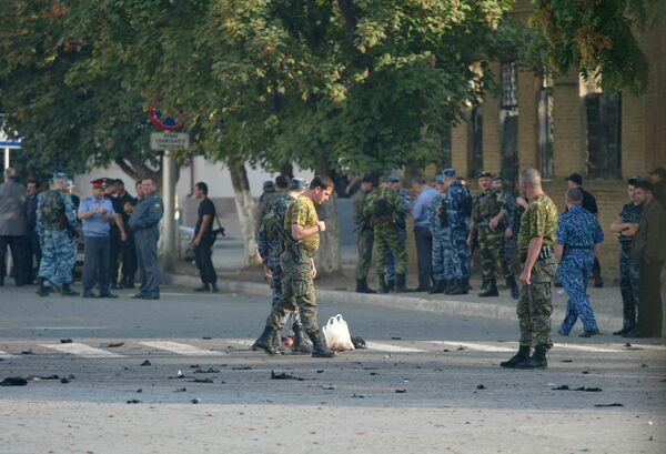 Взрыв прогремел в центре Грозного, есть раненые, возможны жертвы