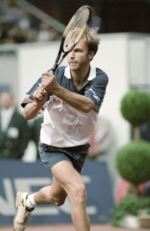 Теннисист Андрей Чесноков