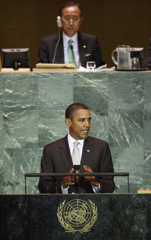 Обама призвал оставить в прошлом споры по экологическим вопросам