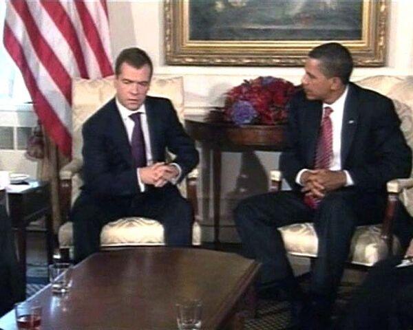 Медведев и Обама договорились по иранской ядерной проблеме