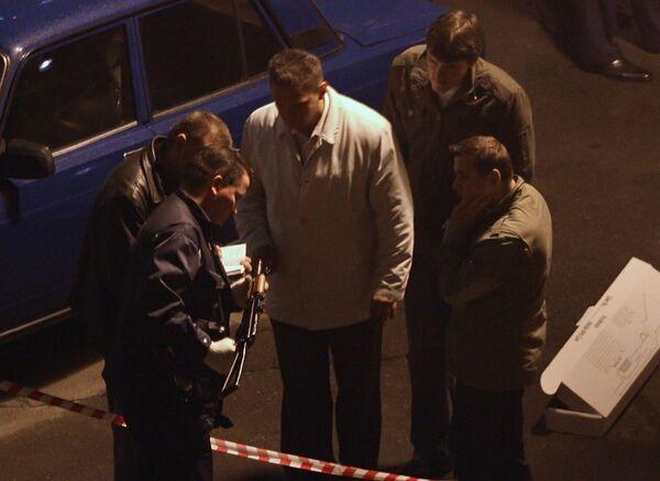 В Москве убит глава администрации Хасавюртовского района Дагестана Алимсултан Алхаматов