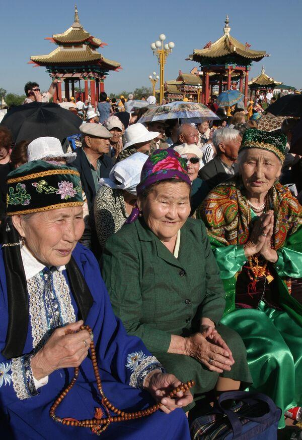 Церемония Цам прошла в главном буддистском храме Калмыкии