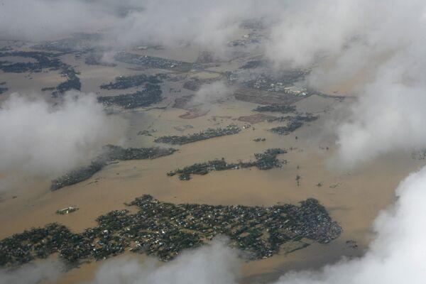 Количество жертв тропической бури Миринаэ увеличилось до 40 человек