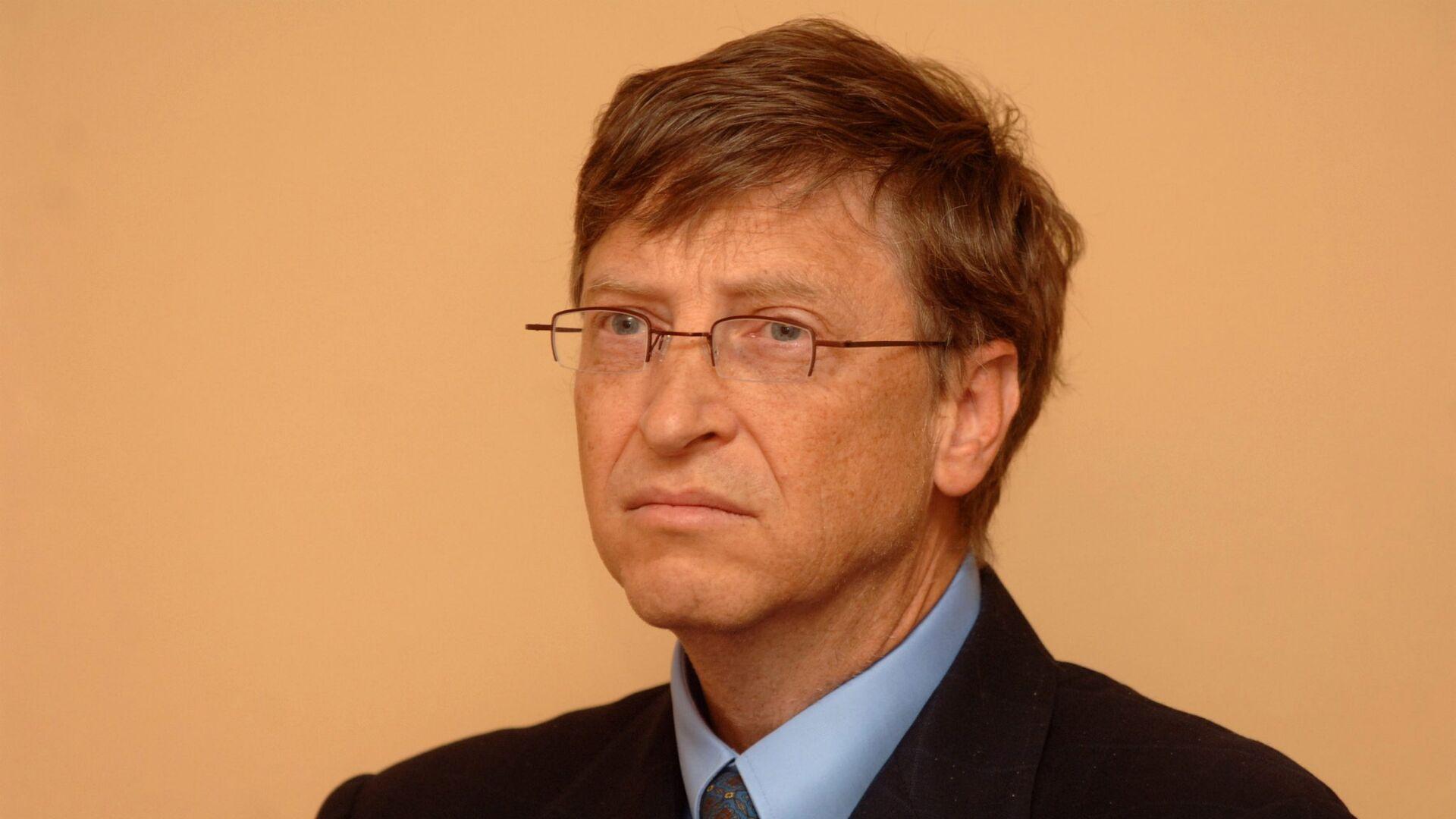 Б.Гейтс во время визита в Москву - РИА Новости, 1920, 20.08.2020