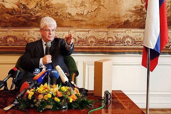 Владимир Чижов отметил, что Москва пока не намерена заключать с ЕС отдельное соглашение по энергетическим вопросам