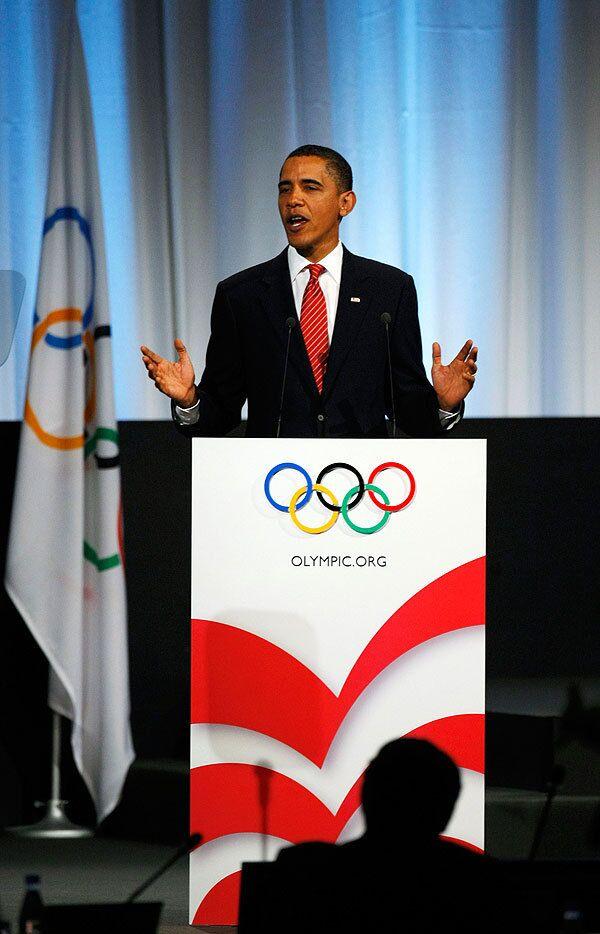 Президент США Барак Обама в Копенгагене