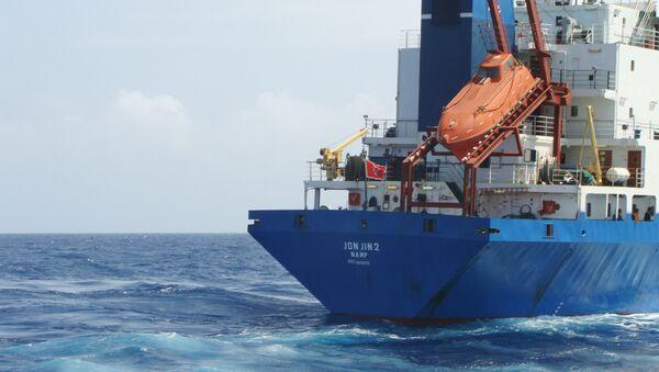 Сухогруз Arctic Sea вошел в территориальный воды Алжира