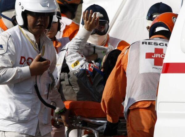 Пилота командны Тойота Тимо Глока госпитализируют после аварии