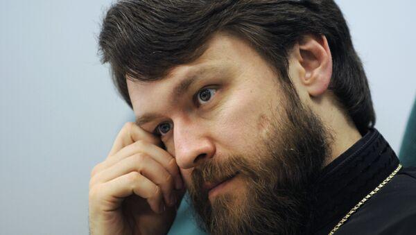 Председатель Отдела внешних церковных связей Московского Патриархата епископ Волоколамский Иларион