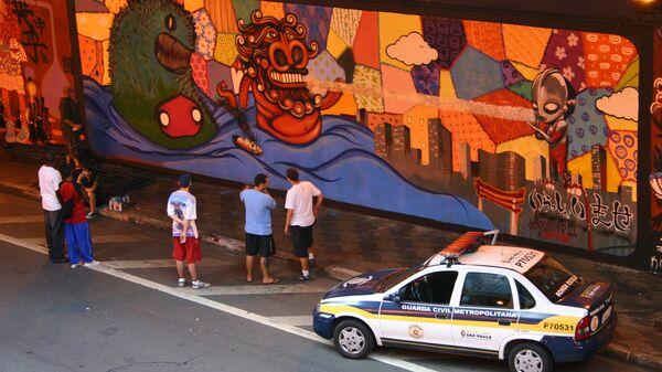 Полиция в Бразилии