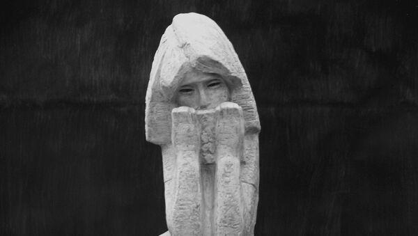 Анна Франк - гипс, 1969 год