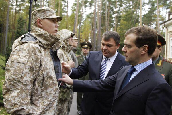 Медведев прилетел в Казахстан на финал учений ОДКБ