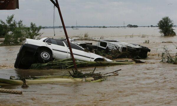 Последствия урагана на Филиппинах