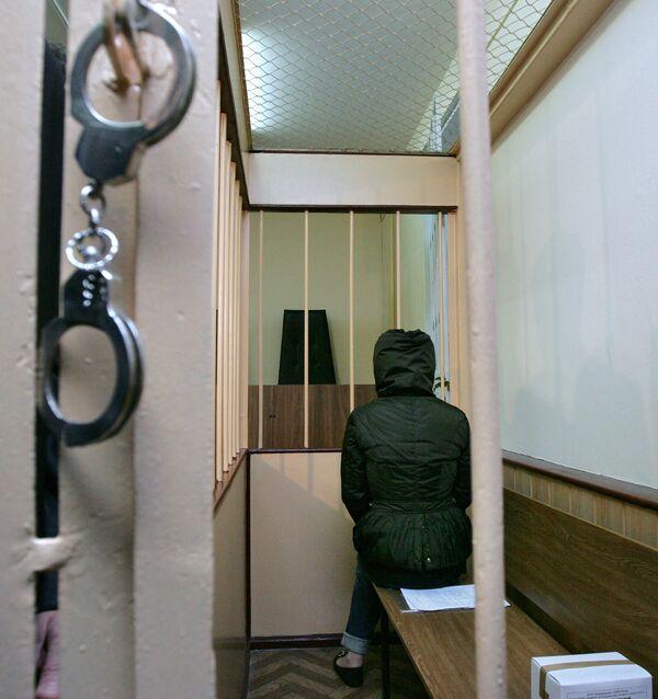 Вице-президент наблюдательного совета ювелирного холдинга Алтын Антонина Бабосюк в здании Лефортовского районного суда. Архив