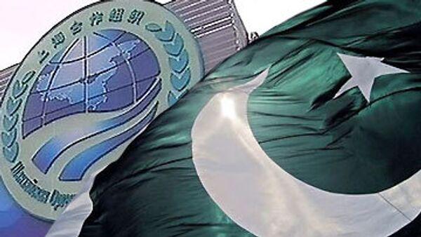 Шанхайская организация сотрудничества и флаг Пакистана