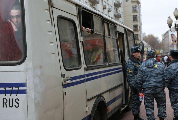 Задержаны журналисты, освещавшие события вокруг Черкизовского рынка