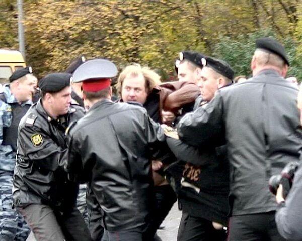 Митинг на Черкизовском рынке закончился арестом торговцев