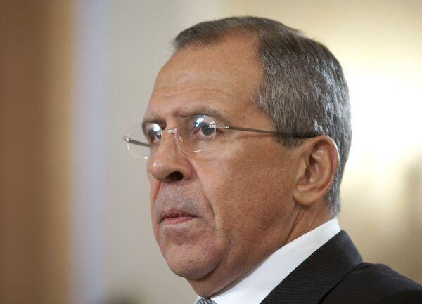 Глава МИД РФ Сергей Лавров посетит 4 ноября Кипр с официальным визитом