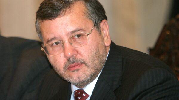 Председатель Комитета Верховной Рады по вопросам национальной безопасности и обороны Анатолий Гриценко. Архив