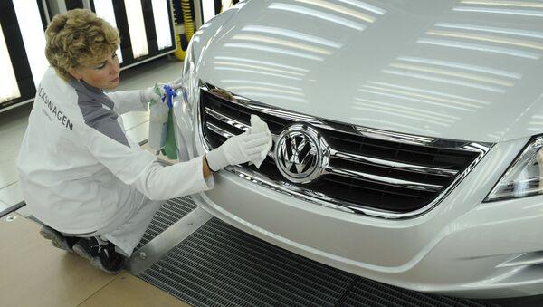 Автомобиль марки Volkswagen, архивное фото